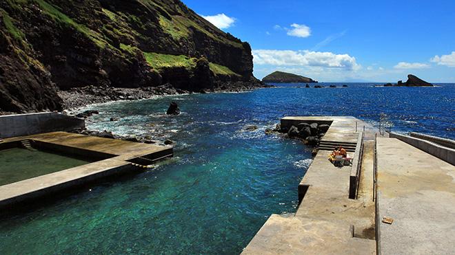 Piscinas do Carapacho - Ilha Graciosa