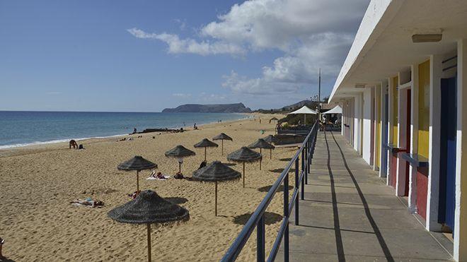 Praia de Porto Santo Lugar Porto Santo Foto: Francisco Correia