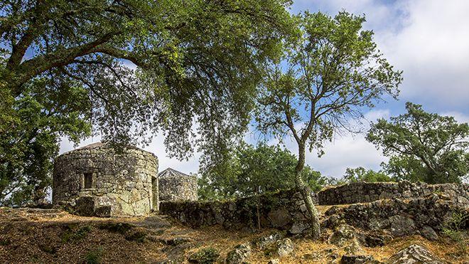 Citânia de Briteiros Ort: Guimarães Foto: CM Guimarães