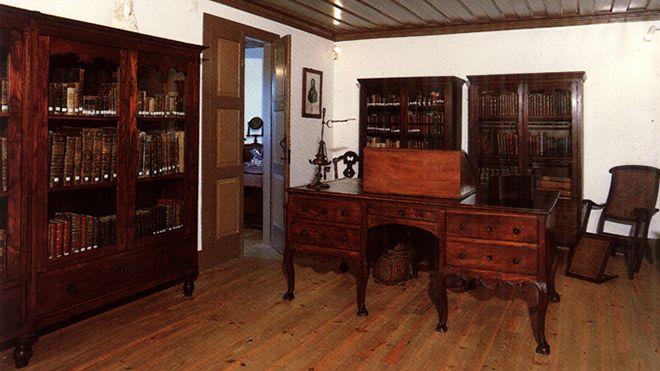 Casa de Camilo - Museu - Escritório 地方: São Miguel de Seide / V. N. Famalicão