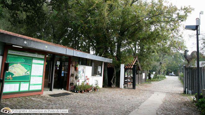 Parque de Campismo e Caravanismo da Quinta de Pentieiros Place: Ponte de Lima Photo: Parque de Campismo e Caravanismo da Quinta de Pentieiros