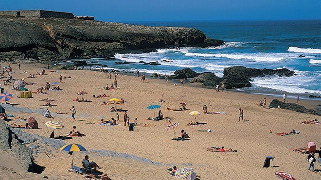 Praia da Cresmina - Guincho Local: Guincho - Cascais Foto: JTCE