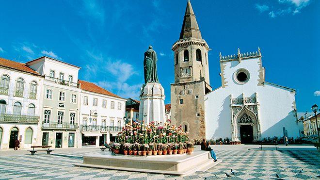 Igreja de São João Baptista, Tomar Ort: Tomar Foto: John Copland