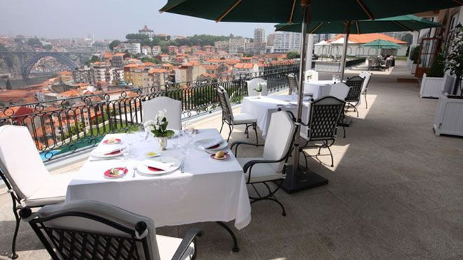 Porto Plaats: Porto Foto: The Yeatman Hotel