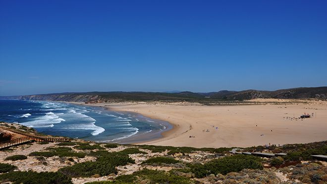 Praia Bordeira Local: Aljezur Foto: Turismo do Algarve