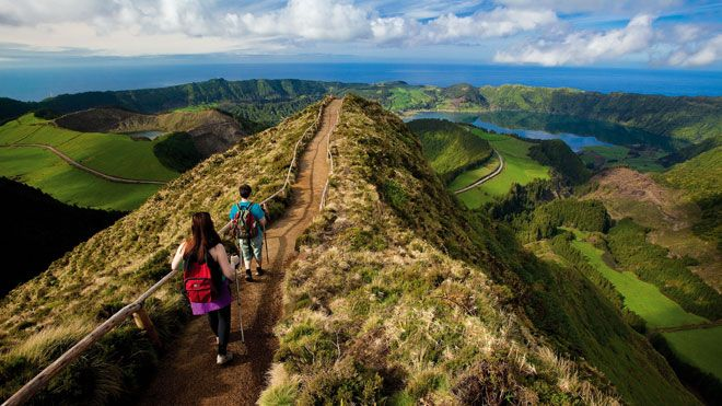 Sete Cidades Place: Ilha de São Miguel nos Açores Photo: Veraçor