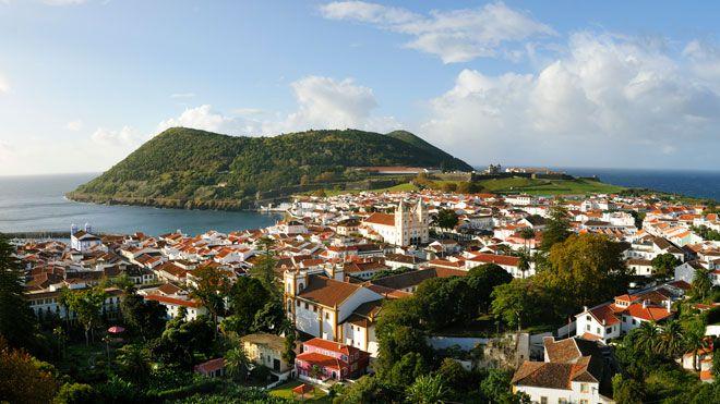 Angra e Monte Brasil Local: Ilha Terceira nos Açores Foto: DRT, Maurício de Abreu