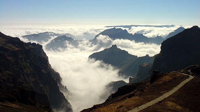 Ilha da Madeira Luogo: Pico do Areeiro Photo: Turismo da Madeira