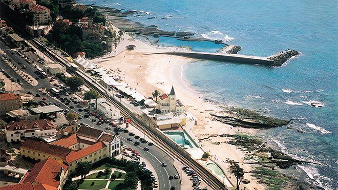 Praia do Tamariz 地方: Estoril 照片: JTC Estoril