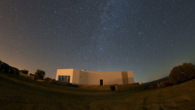Observatório Lago Alqueva Luogo: Monsaraz Photo: OLA