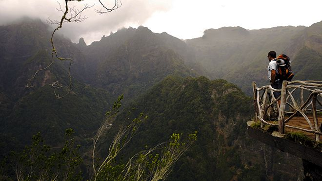 Parque Natural da Madeira Local: Balcões Foto: AP Madeira