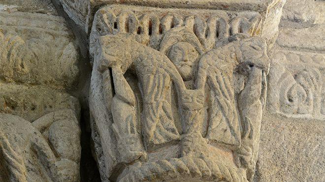Rota do Românico - Igreja de São Martinho de Mouros Place: Resende Photo: Rota do Românico