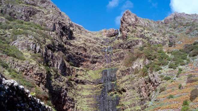 Cascata do Aveiro - Ilha de Santa Maria Place: Ilha de Santa Maria - Açores Photo: Turismo dos Açores