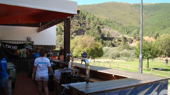 Bar Praia Fluvial_Skiparque Place: Manteigas Photo: Skiparque