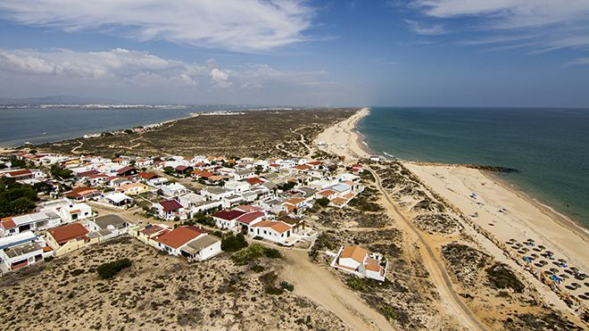 Praia da Ilha do Farol Lugar Faro Foto: Shutterstock_AG_Mauro Rodrigues