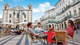 Praça do Giraldo Local: Évora Foto: Turismo do Alentejo