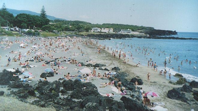 Praia do Pópulo Ort: São Miguel - Açores Foto: ABAE