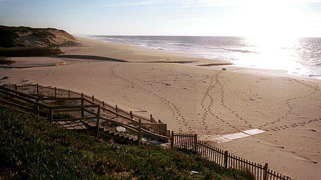 Praia da Aberta Nova Local: Grândola Foto: ABAE