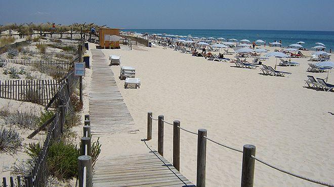 Praia do Barril Plaats: Tavira Foto: ABAE