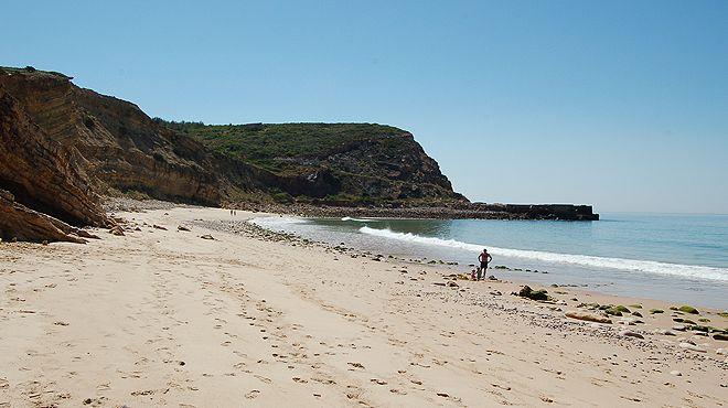 Praia de Almádena - Cabanas Velhas Ort: Vila do Bispo Foto: ABAE
