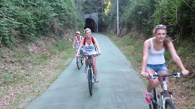 Abelenda Bike Rental Foto: Abelenda Bike Rental