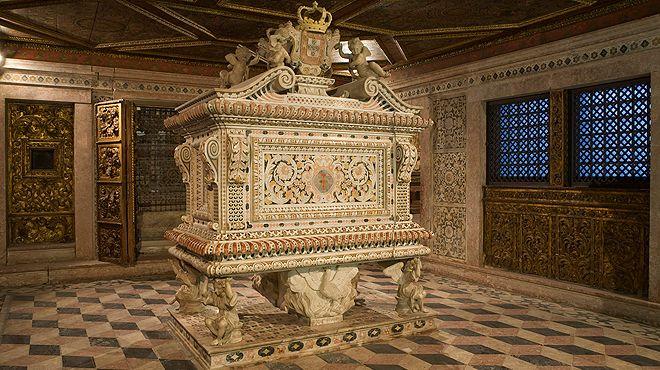 Convento de Jesus - Túmulo Santa Joana Luogo: Aveiro Photo: Museu de Aveiro