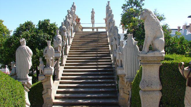 Jardim do Paço Episcopal Local: Castelo Branco