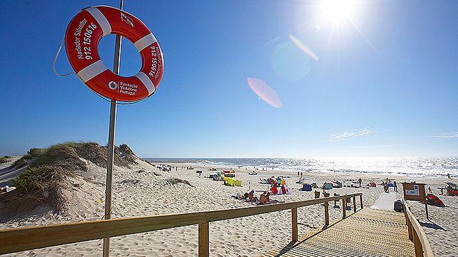 Praia do Areão Local: Vagueira Foto: ABAE