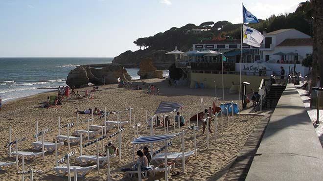 Praia dos Olhos de Água Place: Olhos de Água - Albufeira Photo: FM