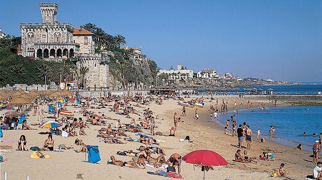 Praia do Tamariz 地方: Estoril - Cascais 照片: JTCE