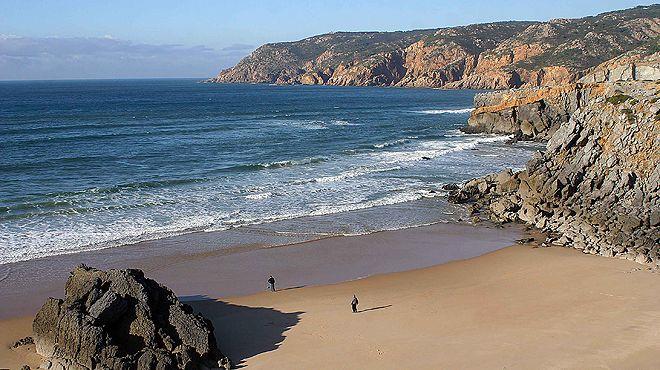 Praia do Abano Local: Guincho - Cascais Foto: JTCE