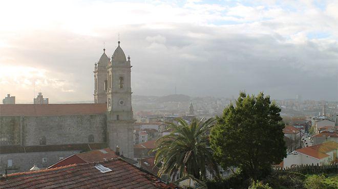 Igreja de Nossa Senhora da Lapa - vista do antigo telégrafo Local: Porto Foto: Venerável Irmandade de Nossa Senhora da Lapa