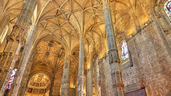 Mosteiro dos Jerónimos Local: Lisboa Foto: Shutterstock / Martin Lehmann
