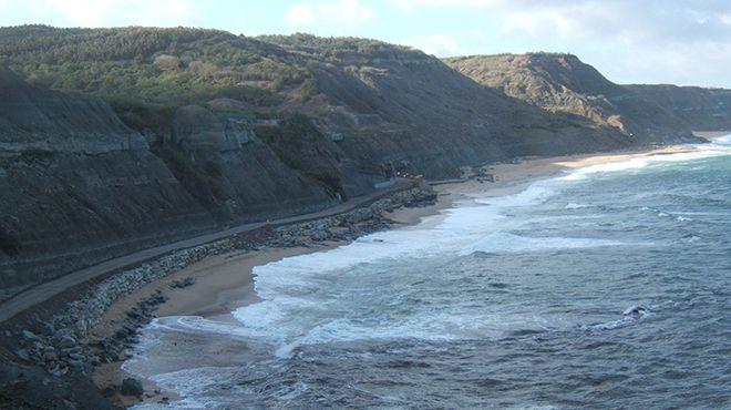 Praia de Porto das Barcas Local: Lourinhã Foto: CM Lourinhã