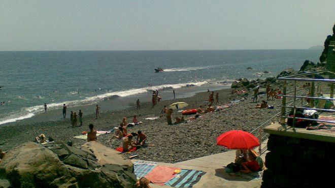 Praia do Garajau Ort: Santa Cruz - Madeira Foto: ABAE