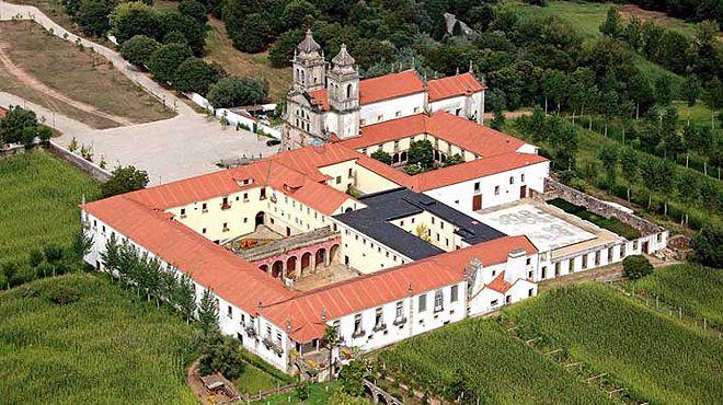 Mosteiro de São Martinho de Tibães Lugar Mire de Tibães Foto: Direção Regional de Cultura do Norte
