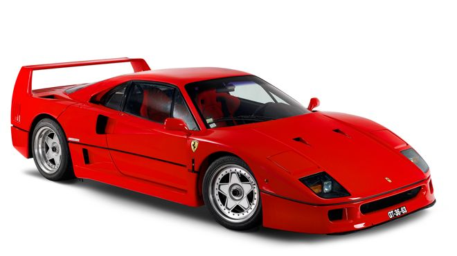 Ferrari F40 写真: Museu do Caramulo