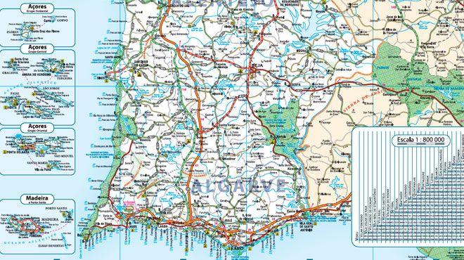 Mapa Turístico Place: Portugal Photo: Mapa Turístico