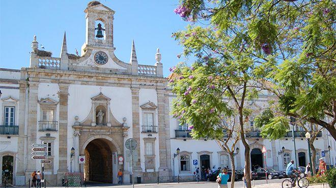 Arco da Vila em Faro Photo: Ana Abrão, Município de Faro