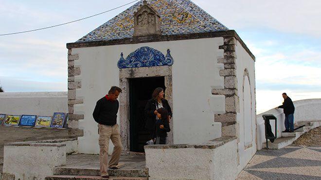 Ermida da Memória Lugar Nazaré Foto: Nuno Félix Alves