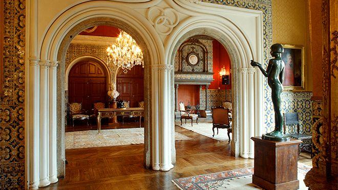 Museu Conde Castro Guimarães Luogo: Cascais Photo: Rui Cunha