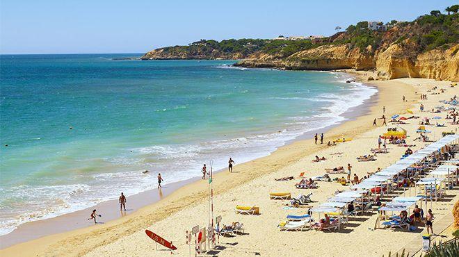Praia Maria Luísa Ort: Albufeira Foto: Helio Ramos - Turismo do Algarve