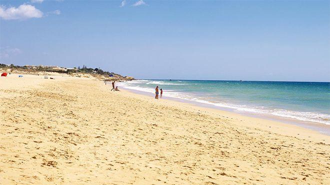 Praia dos Salgados Foto: Helio Ramos - Turismo do Algarve