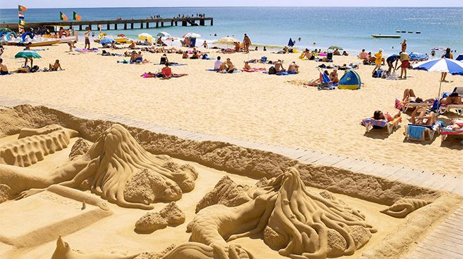 Praia dos Pescadores - Albufeira Foto: Helio Ramos - Turismo do Algarve