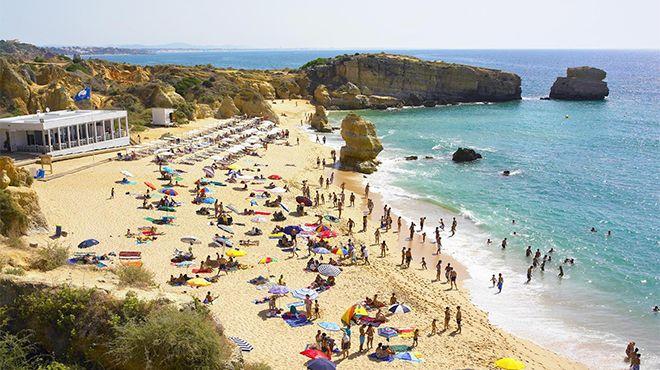 Praia de São Rafael Local: Albufeira Foto: Helio Ramos - Turismo do Algarve