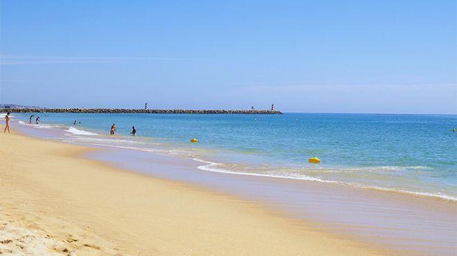 Praia da Rocha Baixinha Luogo: Albufeira Photo: Helio Ramos - Turismo do Algarve