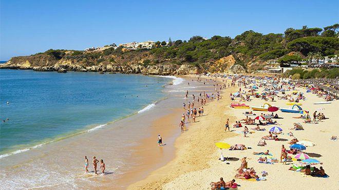 Praia da Oura Фотография: Credito Helio Ramos - Turismo do Algarve
