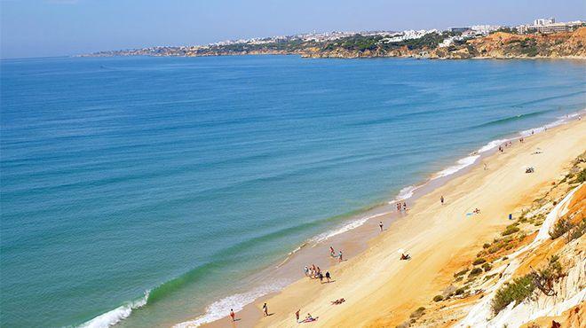 Praia da Falésia - Açoteias / Alfamar Фотография: Helio Ramos - Turismo do Algarve