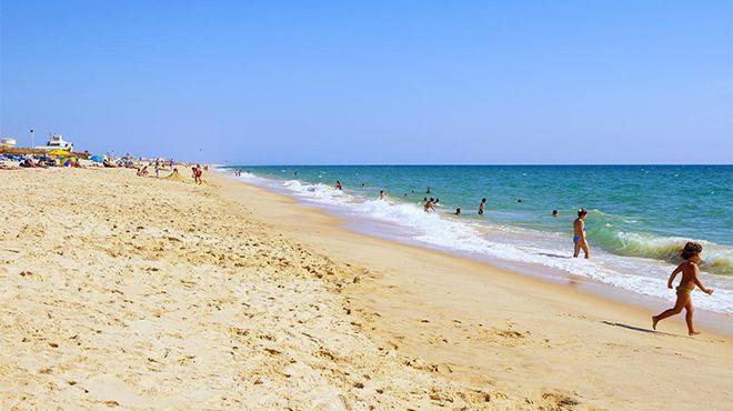 Praia da Ilha de Faro Foto: Turismo do Algarve