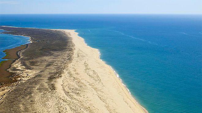 Praia da Ilha da Barreta / Ilha Deserta Foto: Turismo do Algarve